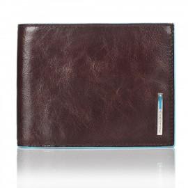 Piquadro - Portafoglio uomo con 12 porta carte di creditogrigio scuro Blue Square - PU1241B2