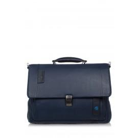 Piquadro - Flap-over computer bag with iPad®/iPad®Air/Air 2 compartment Pulse - CA3111P15