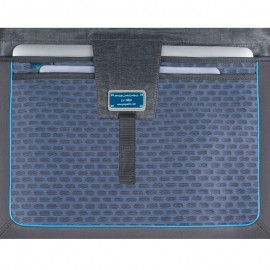 "Piquadro - 10.5""/9.7""laptop/iPad®, iPad®mini two-handle briefcase, bottle pocket, ready for CONNEQU P15Plus - CA3347P15"