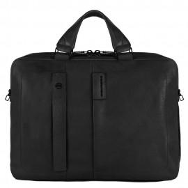 "Piquadro - 10.5""/9.7""laptop/iPad®, iPad®mini two-handle briefcase, bottle pocket, ready for CONNEQU P15Plus - CA3347P15S"