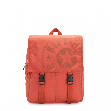 Kipling - Medium Backpack with Push Buckle Straps - LEONIE - KI3724