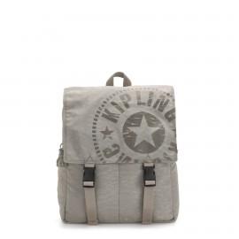 Kipling - Medium Backpack with Push Buckle Straps - LEONIE - KI3724