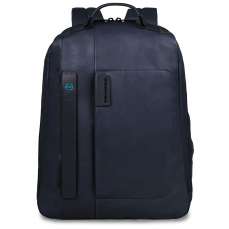 Piquadro - Large computer backpack with iPad®Air/Air 2/iPad®mini compartment, bottle and umbrella holder Pulse - CA3349P15