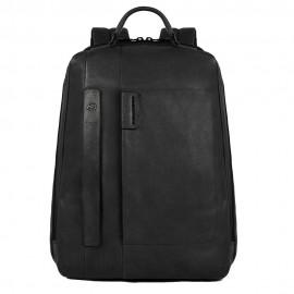 Piquadro - Big size computer backpack with iPad®Air/Pro 9,7/iPad®mini compartments, umbrella holder and CONNEQU - CA3349P15S