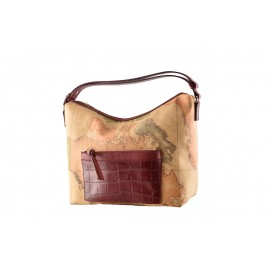 """Alviero Martini - Medium """"Casual Croco"""" shoulder bag - LGG47G422"""
