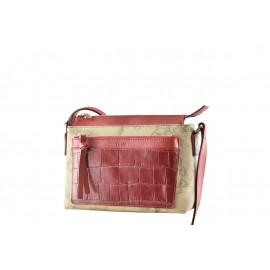 "Alviero Martini - Small ""Casual Croco"" crossbody bag - LGG49T422"