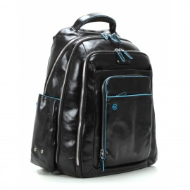 Piquadro - Computer backpack with iPad/iPad®Air compartment Blue Square - CA1813B2