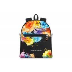 Alviero Rodriguez - Backpack ZIP SAFFIANO - A34