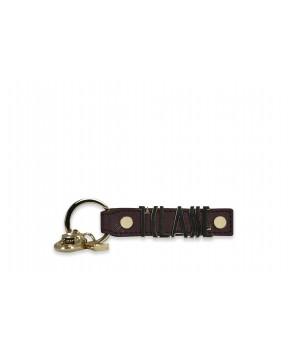 Alviero Martini - Keychain with logo lettering - LPF139407