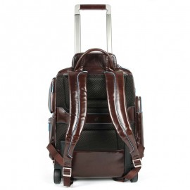 Leather travel trolley - CA3797B2