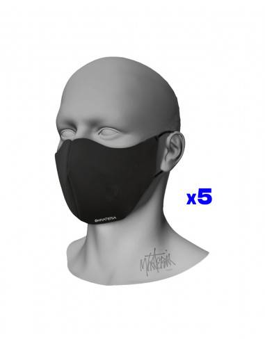 Mhateria - Black face masks in...