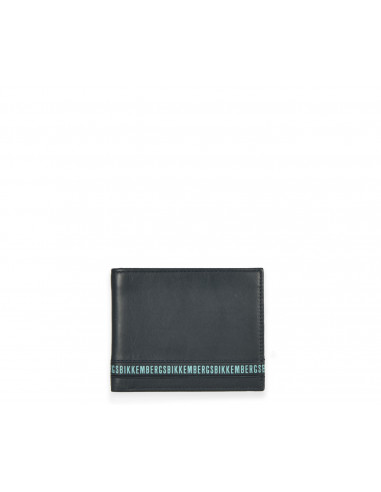 Bikkembergs - Leather wallet with...
