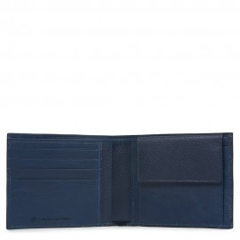 Piquadro - Men's wallet with coin pocket Archimede - PU257IT5