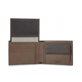 Piquadro - Men's wallet with flip-up ID window, coin pocket and credit card slots Archimede - PU1392IT5