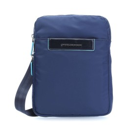 Piquadro - Expandable shoulder pocketbook with compartment iPad®mini Celion - CA3228CE