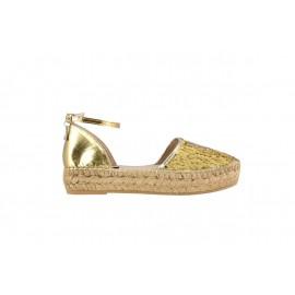 Patrizia Pepe - 2-part espradille sandal - 2V6257/A635 - H2L9