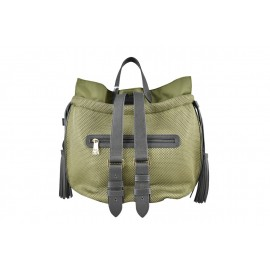 PATRIZIA PEPE  - BACKPACK IN TECHNICAL NYLON - 2V6595 AIZL