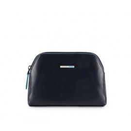 Piquadro - Medium toiletry bag Blue Square - BY3749B2