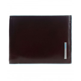 Piquadro - Men's wallet with 12 credit card holders Blue Square - PU1241B2R