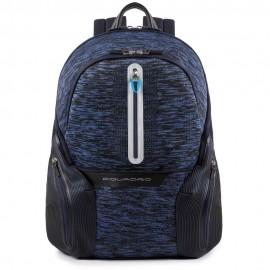 Piquadro - Zaino porta PC e porta iPad®Air/Pro 9,7 con placca USB e micro-USB ed elemento catarifrangente Coleos - CA2943OS37