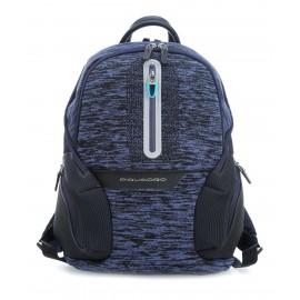 Piquadro - Zainetto porta PC e porta iPad®Air/Pro 9,7 con placca USB e micro-USB ed elemento catarifrangente Coleos - CA3936OS37