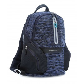 Piquadro - Laptop backpack with iPad®Air/Pro 9,7 compartment, USB and micro-USB enclosure, reflective detail Coleos - CA3936OS37