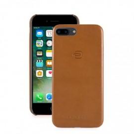 """Piquadro - Cover in pelle per iPhone 7 Plus da 5,5"""" - AC3215BM"""