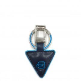 Piquadro -Portachiavi in pelle forma triangolare PC4224B2