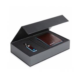 Piquadro - Gift box PU1241B2 + PC3755B2 - PUBOX03B2