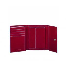Piquadro - women's medium leather wallet - PD4145B2