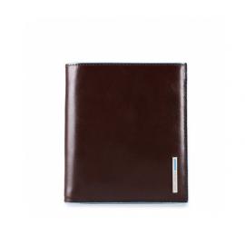 Piquadro - Portafoglio uomo in pelle con bustina estraibile Blue Square - PU3691B2
