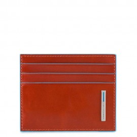 Piquadro - Leather credit card holder - PU4218B2
