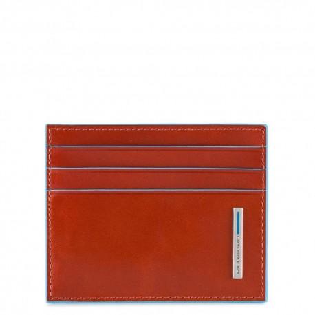 Piquadro - Leather credit card holder - PU4218B2