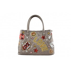 Braccialini - PATCH BOSTON BAG - B11692