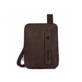 Piquadro - Organized pocket crossbody bag with iPad®mini compartment - CA3084P15S
