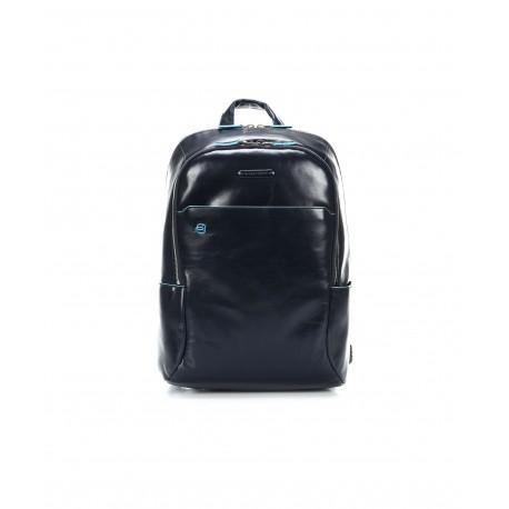 Piquadro - Computer backpack with padded iPad®/ iPad®mini compartment Blue Square - CA3214B2