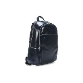 Piquadro - Computer backpack with padded iPad®/ iPad®mini compartment Blue Square - CA3214B2