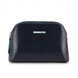 Piquadro - Small toiletry bag Blue Square - BY3793B2