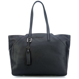 Piquadro - Big size, iPad®Air/Pro 9,7 shopping bag with noteboook sleeve Muse - BD4323MU