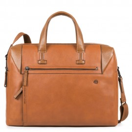Piquadro - Computer portfolio briefcase with two dividers and iPad®Air/Pro 10,5 compartment PAN - CA4256S94