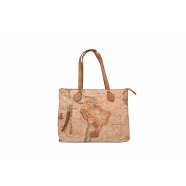 Alviero Martini - THE SOFT WIND GEO CLASSIC LARGE TOTE - LGI80S519