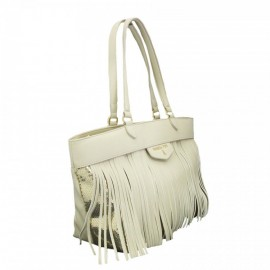 Patrizia Pepe - SHOPPER BAG WITH DETACHABLE FRINGE - 2V6482/A2NE