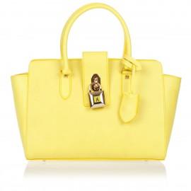 Patrizia Pepe - Bowling handbag in Saffiano leather - 2V4912/AT78