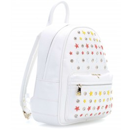 Patrizia Pepe - BACKPACK WITH STRASS CRYSTAL AND MOUNTED GEMS - 2V7768/A3CR