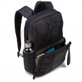 "Piquadro - 10.5""/9.7"" laptop/iPad® rucksack ready for CONNEQU, bottle/umbrella pocket Brief - CA3214BR"