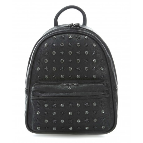 Patrizia Pepe -BACKPACK WITH STUDS AND RHINESTONES- 2V7768/A4E9