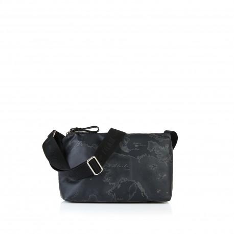 Alviero Martini - SMALL GEO SOFT BLACK CROSSBODY BAG - CN0166535
