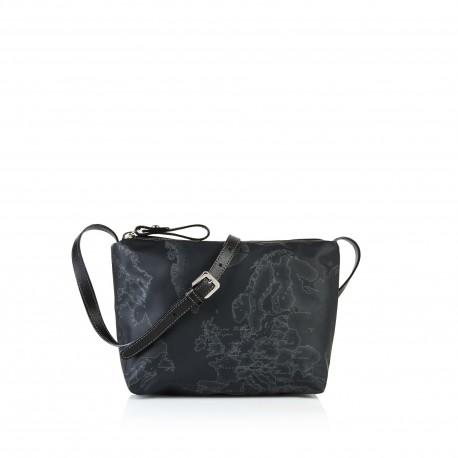 Alviero Martini - SMALL GEO SOFT BLACK CROSSBODY BAG - CN0326535