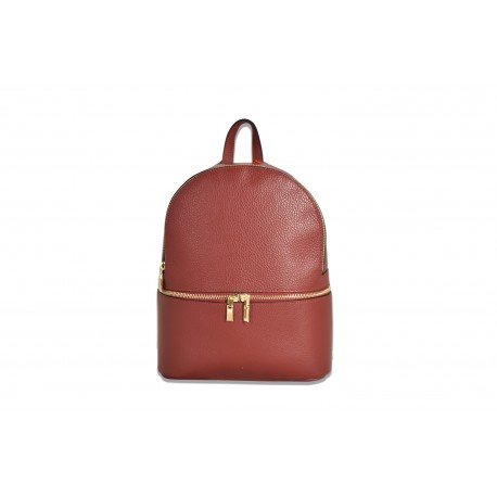 Mhateria - Medium leather backpack - 20