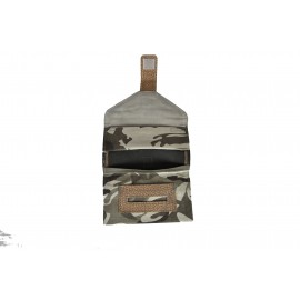 Handmade Tobacco Holder - black and camouflage - 04